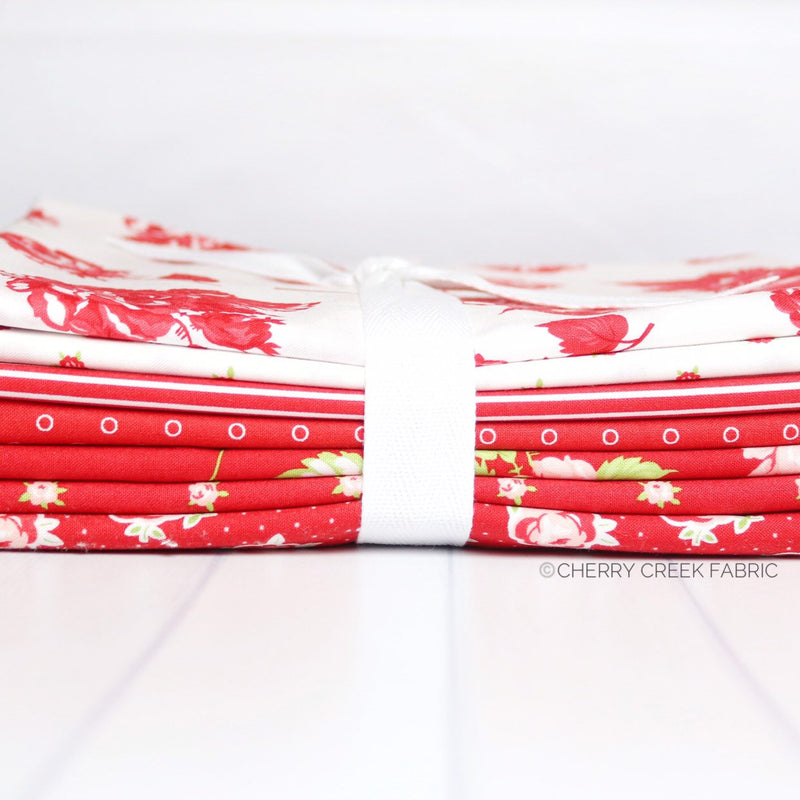 Smitten Red One Yard Bundle
