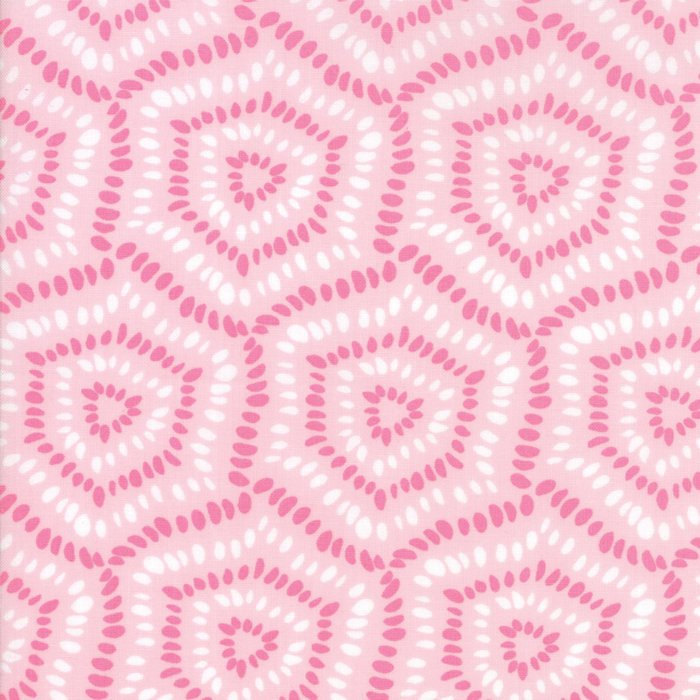 Pink Pebbles Fabric