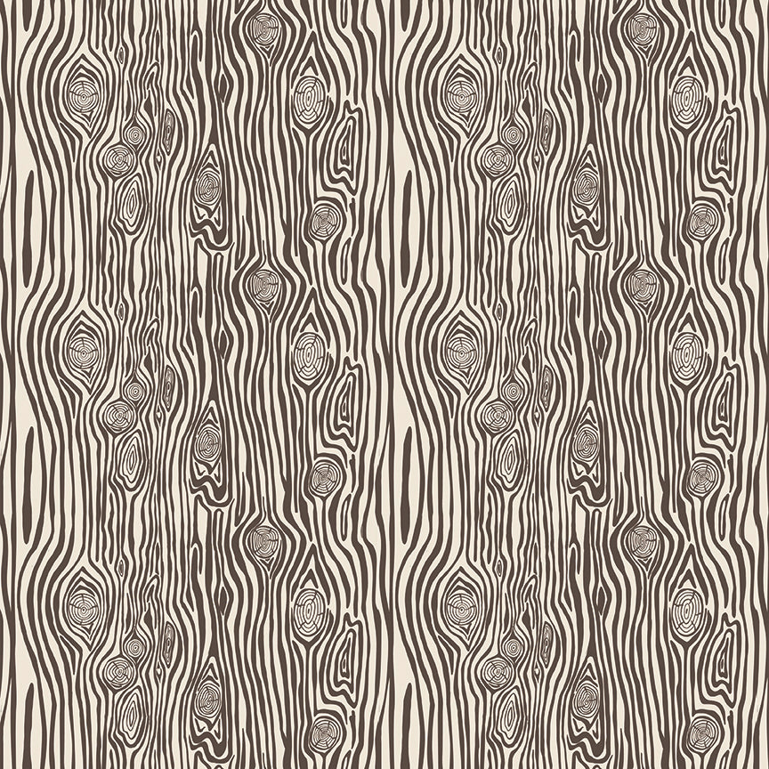 Cream Woodgrain Fabric from High Adventure 2 Collection at Cherry Creek Fabric