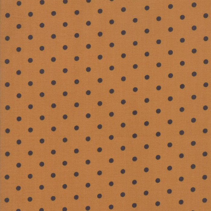 Gold Dots Fabric