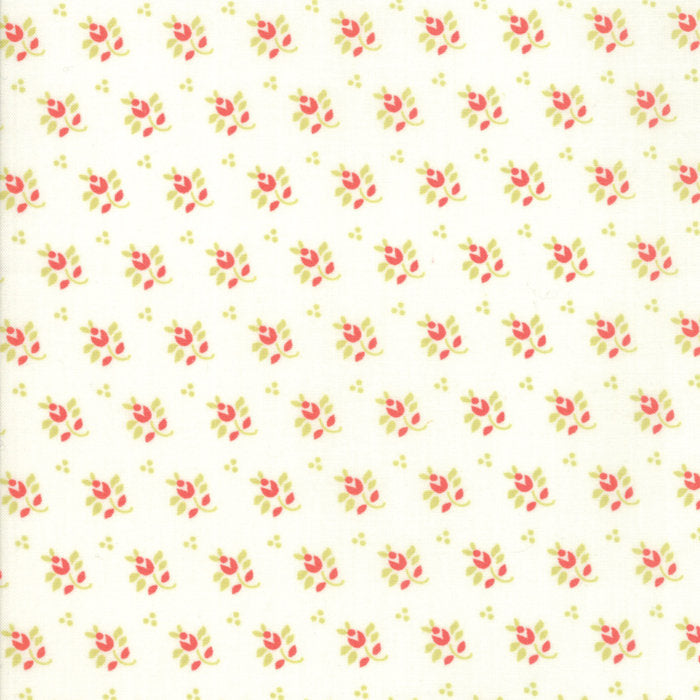Cream Feedsack Fabric
