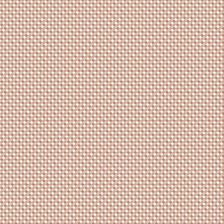 Nutmeg Gingham Fabric
