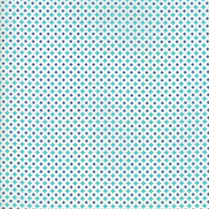 Turquoise Diamond Fabric