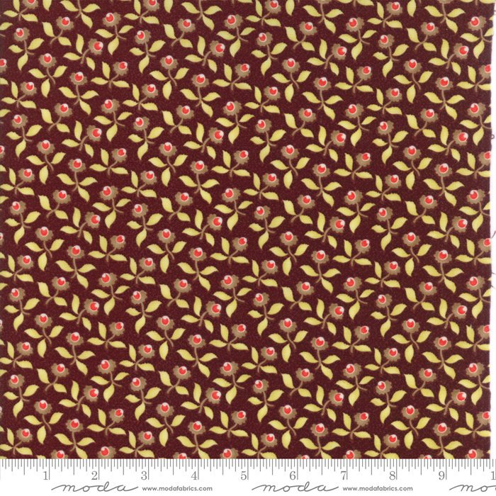 "Plum Blossoms FabricEND OF BOLT 1 yds + 6"" from Hazel & Plum Collection at Cherry Creek Fabric"
