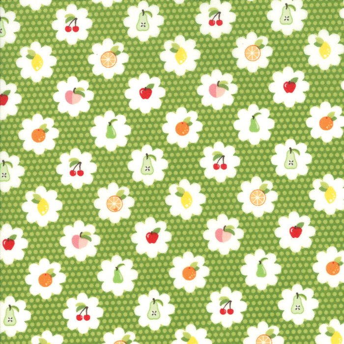 Orchard by April Rosenthal | Green Fruit Grove Fabric