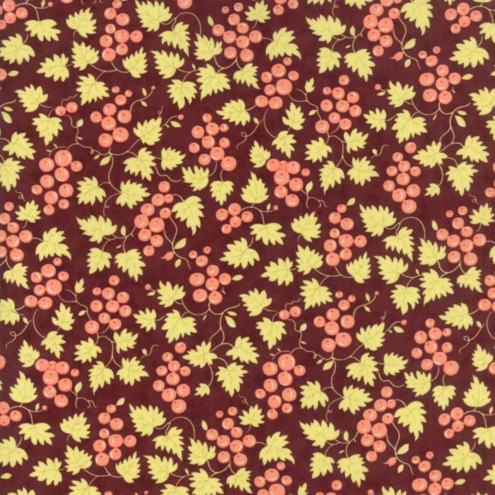 Plum Berries Fabric from Hazel & Plum Collection at Cherry Creek Fabric