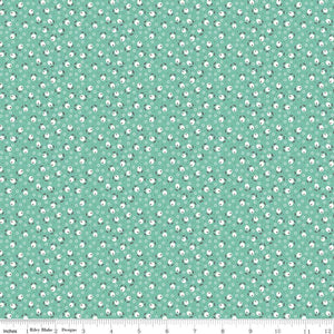 Sea Glass Blossom Fabric from Farm Girl Vintage Collection at Cherry Creek Fabric