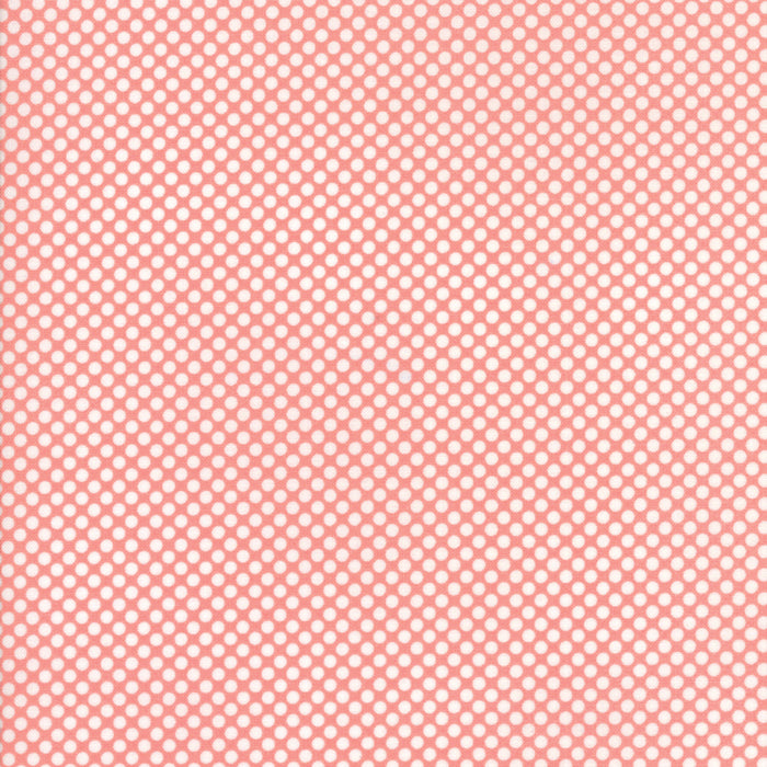 Pink Winter Berries Flannel Fabric