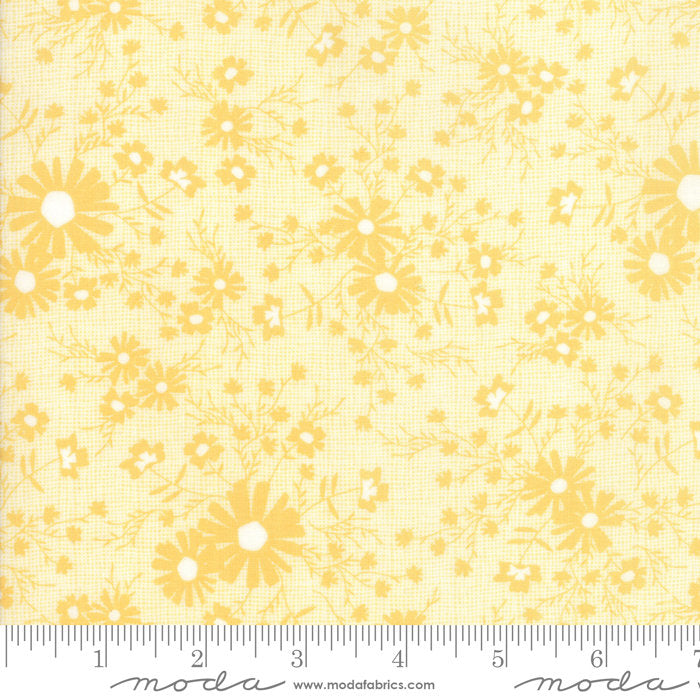 Yellow Floral Meadow Fabric from Sunnyside Up Collection at Cherry Creek Fabric
