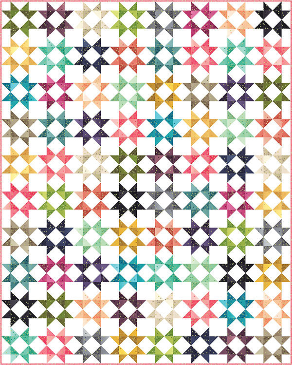 All Star Quilt Pattern from V & Co Collection at Cherry Creek Fabric