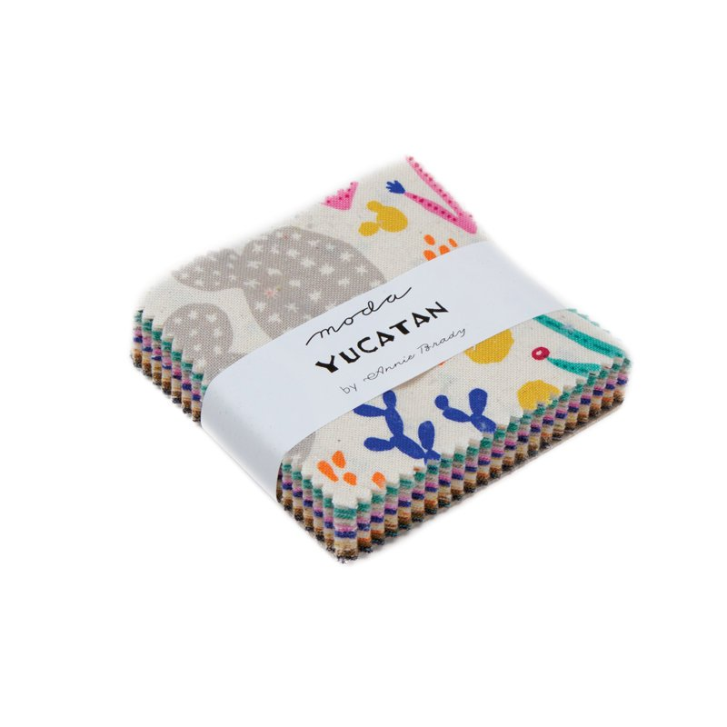 Yucatan Mini Charm Pack - Annie Brady - 42 pieces