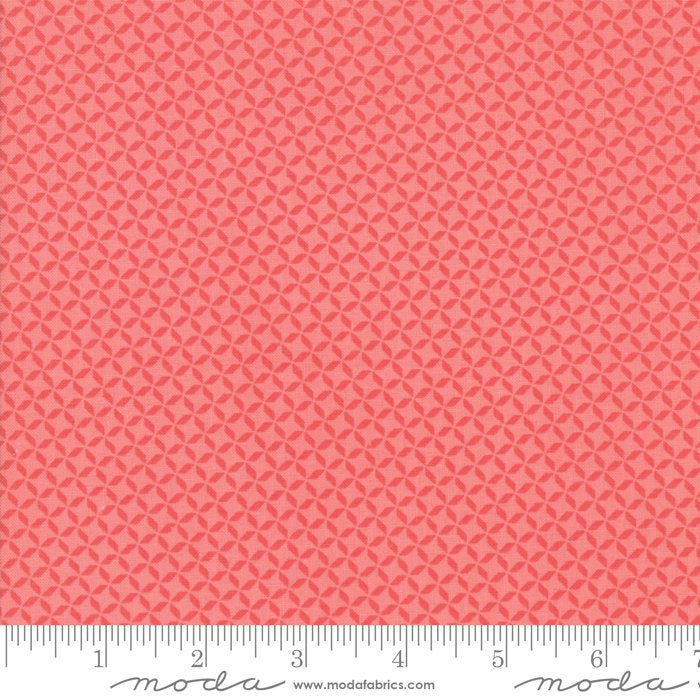 Pink Geometric Fabric from Sunnyside Up Collection at Cherry Creek Fabric