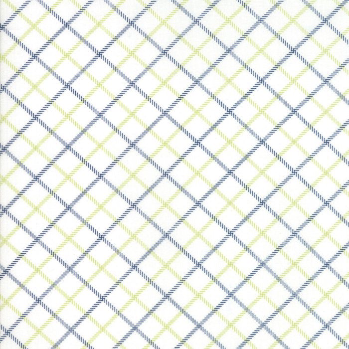 Blue Plaid Fabric