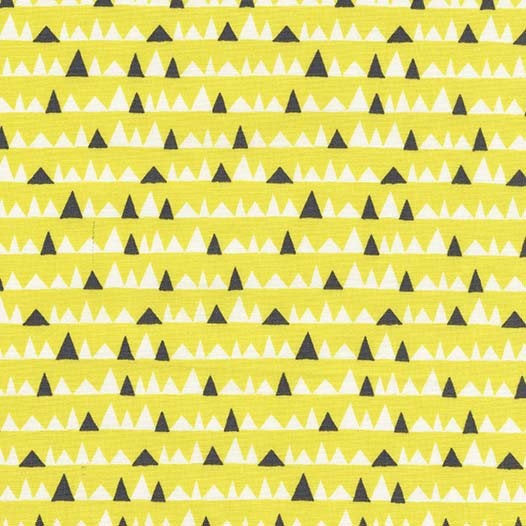 Everglades by Betsy Siber | Yellow Bad Teeth Fabric