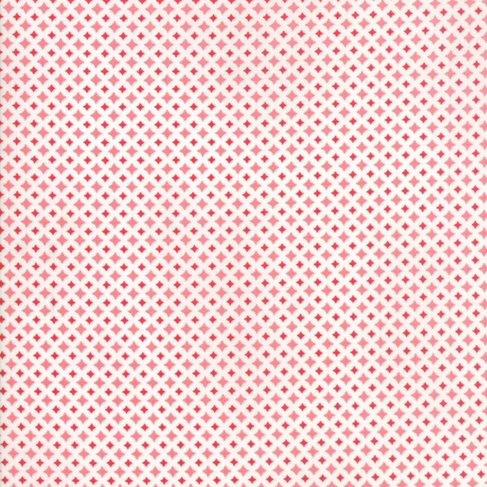 Red Diamond Fabric