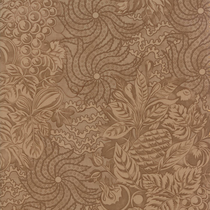 Tan Tapestry Fabric</br>END OF BOLT</br> 3 yds + 10""
