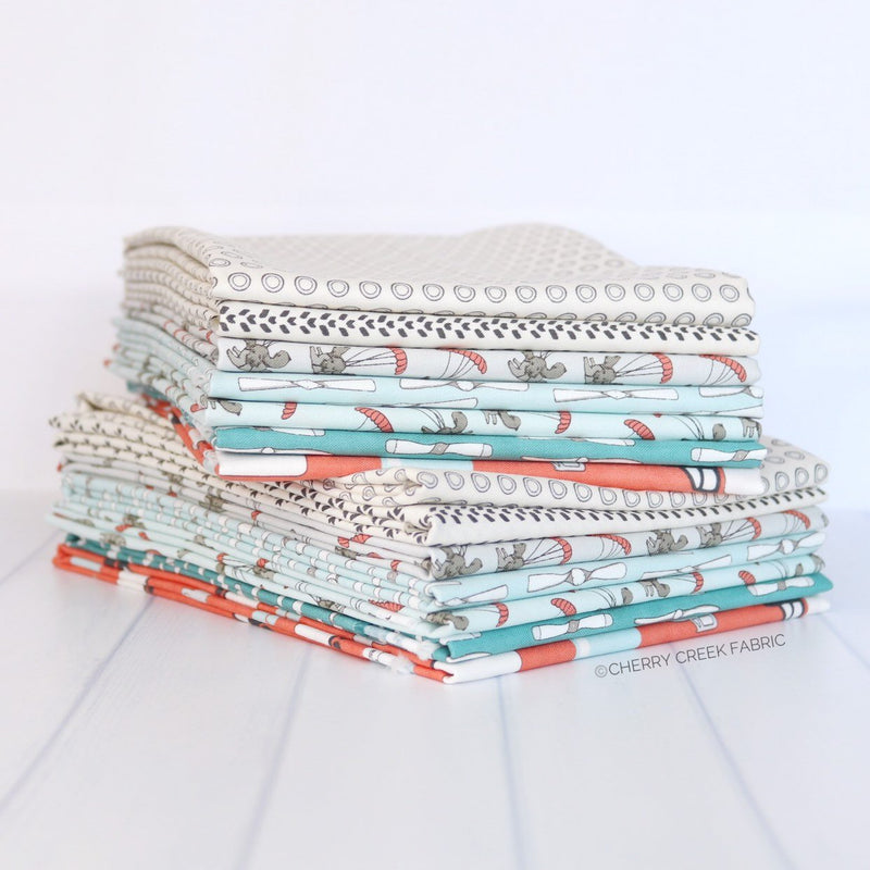 Mighty Machines Half Yard Bundle from Mighty Machines Collection at Cherry Creek Fabric