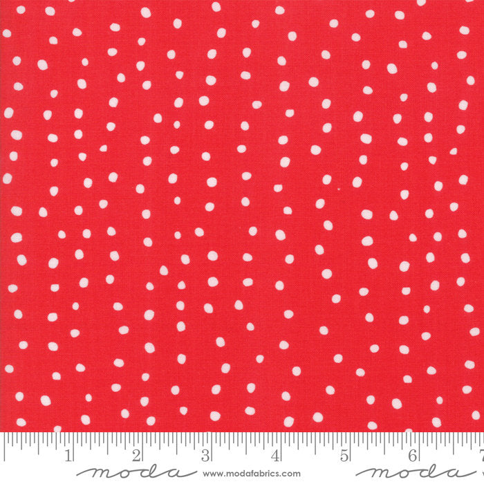 Red Dots Fabric from Farm Fresh Collection at Cherry Creek Fabric
