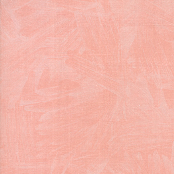 Coral Watercolor Fabric