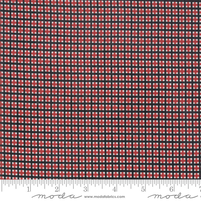 Merry Starts Here by Sweetwater | Red & Black Christmas Plaid Fabric