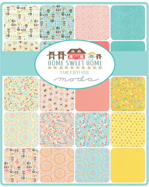 Home Sweet Home Layer Cake from Home Sweet Home Collection at Cherry Creek Fabric