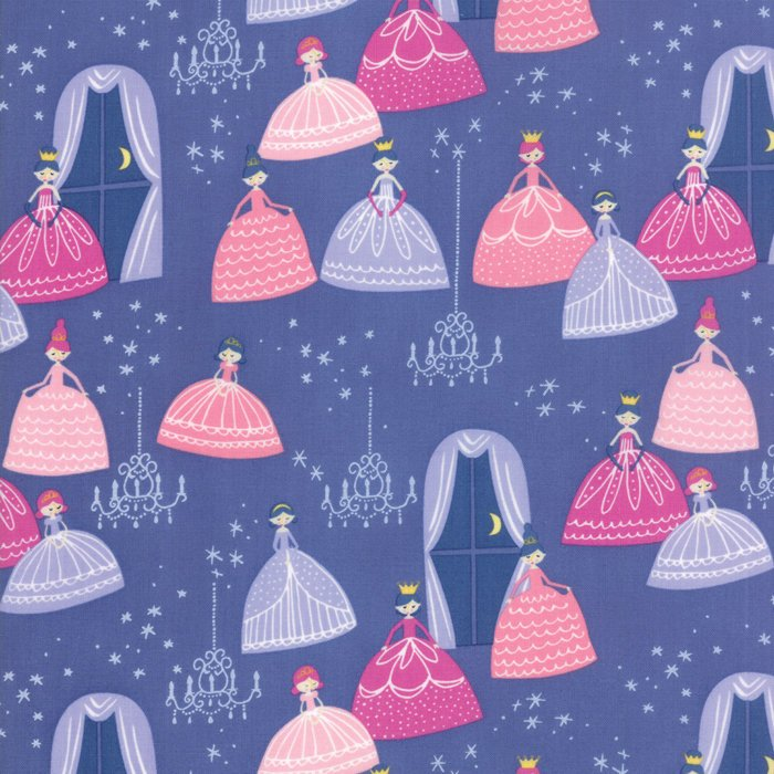 Purple Grand Ball Fabric from Once Upon a Time Collection at Cherry Creek Fabric