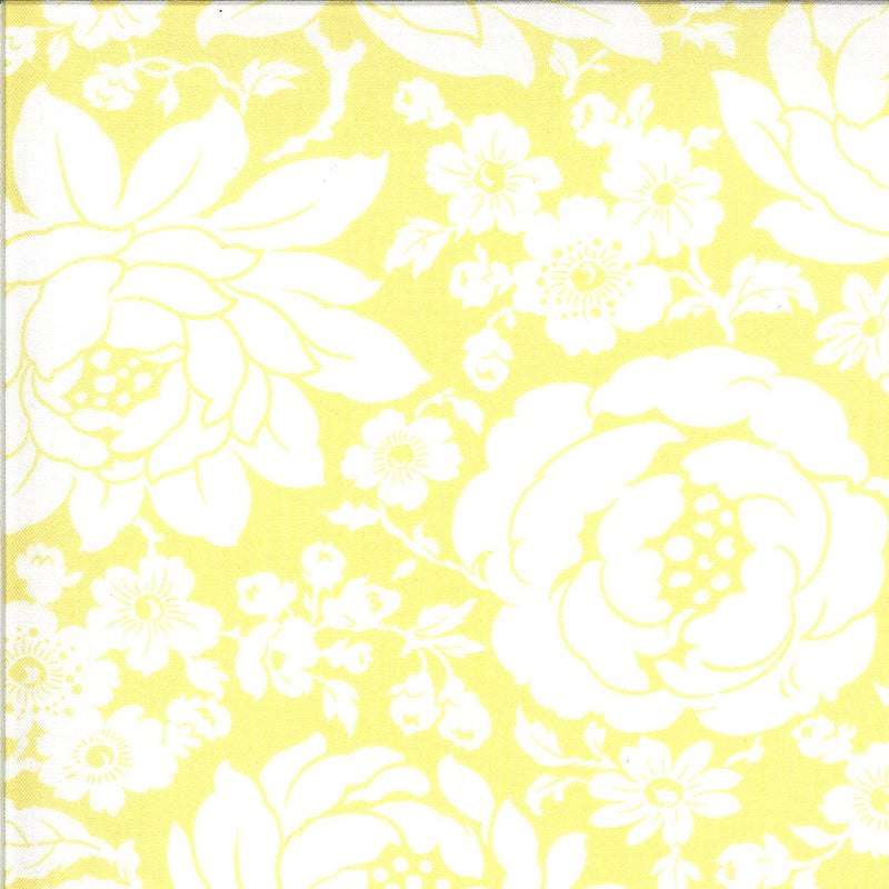 Yellow Mums Floral Fabric | Shine On