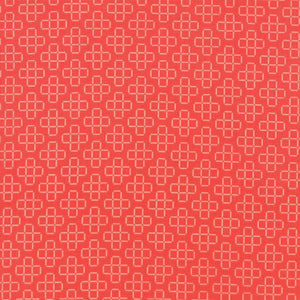 Pomegranate Floral Lattice Fabric from The Front Porch Collection at Cherry Creek Fabric