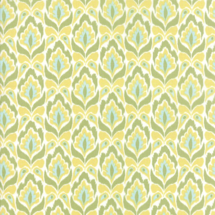 Lemon Lime Tapestry Fabric from Bungalow Collection at Cherry Creek Fabric