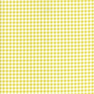 Yellow Floral Checked Fabric from Well Said Collection at Cherry Creek Fabric