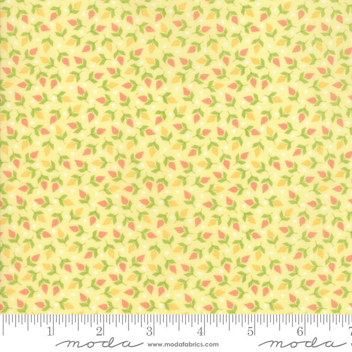 Yellow Tiny Buds Fabric from Sunnyside Up Collection at Cherry Creek Fabric