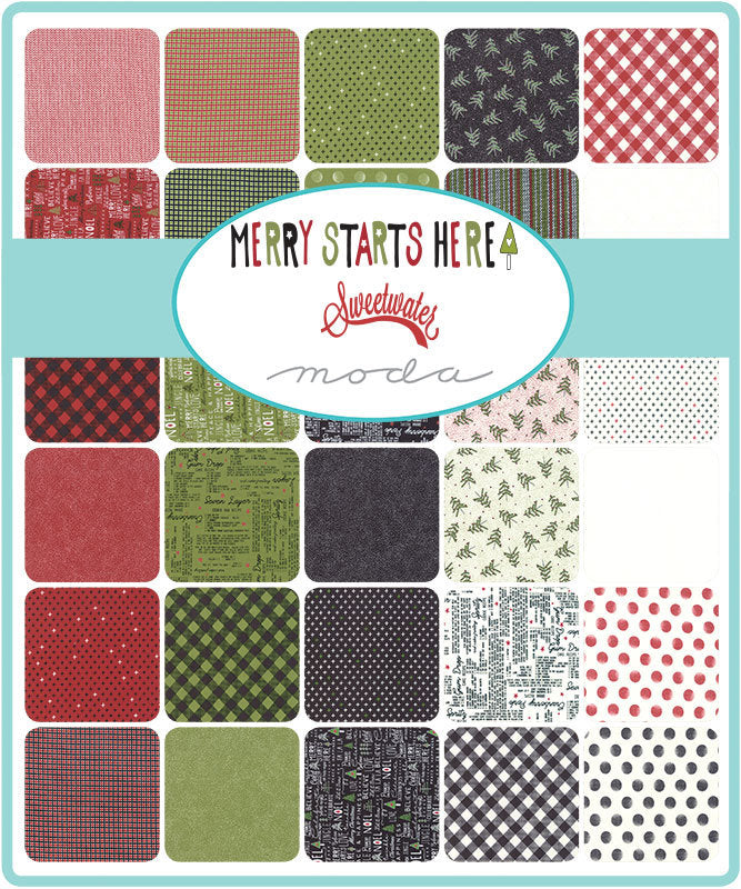 Merry Starts Here Mini Charm Pack