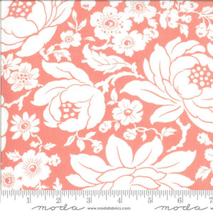 FAT EIGHTH | Pink Mums Floral Fabric | Shine On
