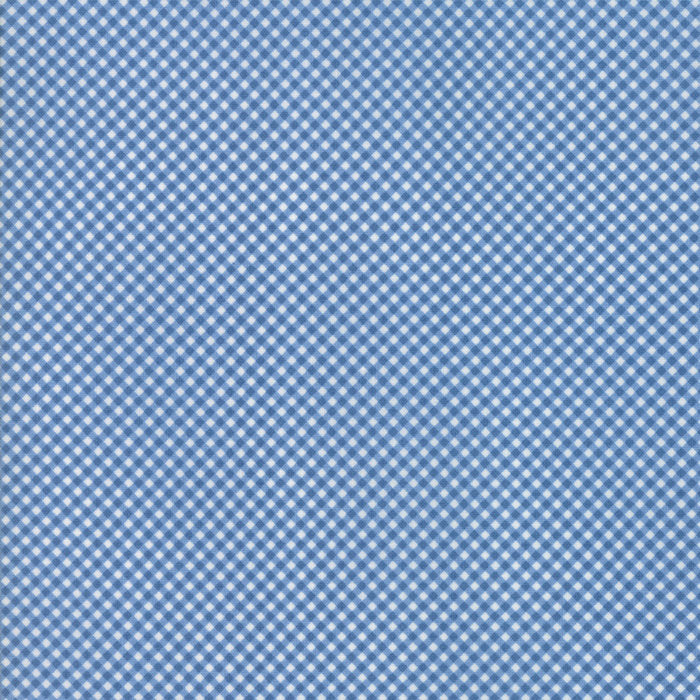 Blue Gingham Fabric from Guest Room Collection at Cherry Creek Fabric