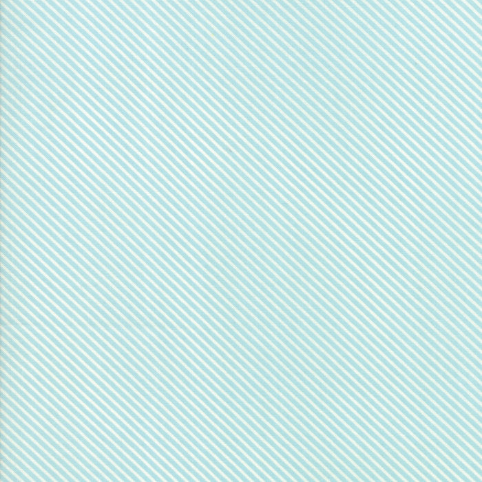 Light Blue Candy Stripes Fabric