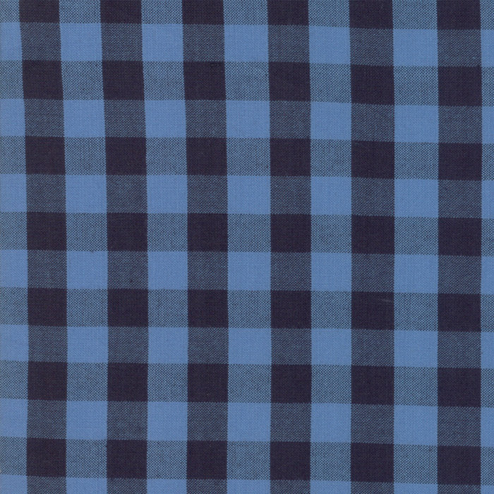 Chambray Check Woven Fabric