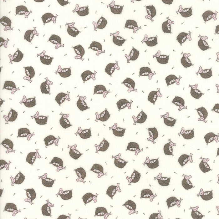 Cream Nest Fabric