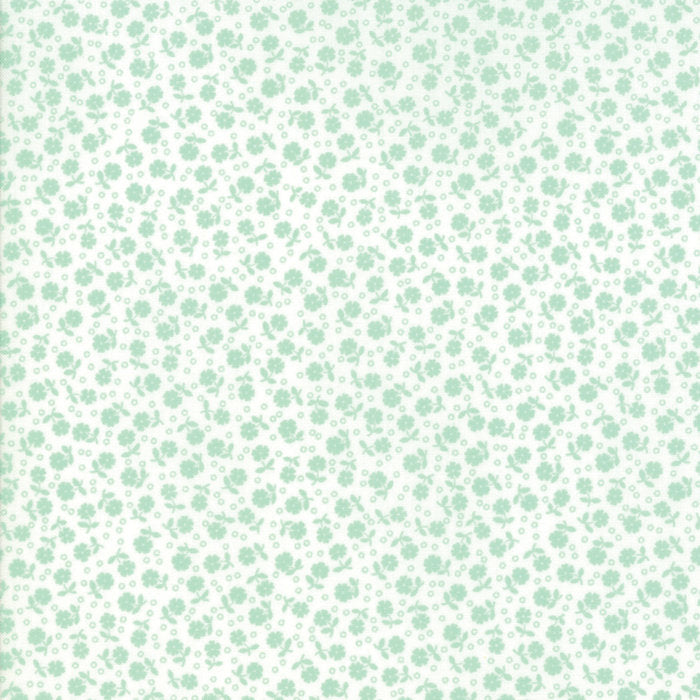 Green Floral Dots Fabric from Guest Room Collection at Cherry Creek Fabric