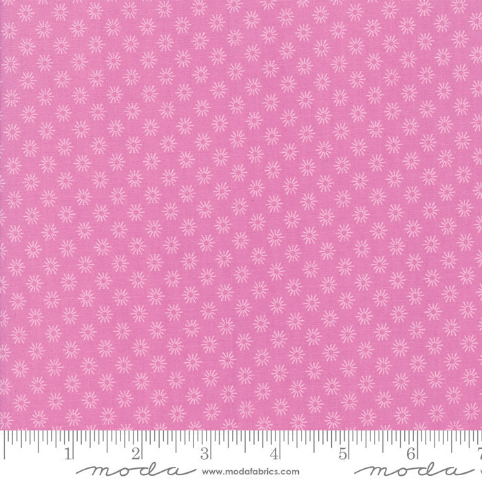 Pink Floral Sunshine Fabric from Sunnyside Up Collection at Cherry Creek Fabric