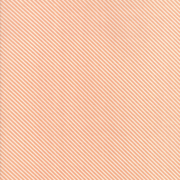 Peach Candy Stripes Fabric