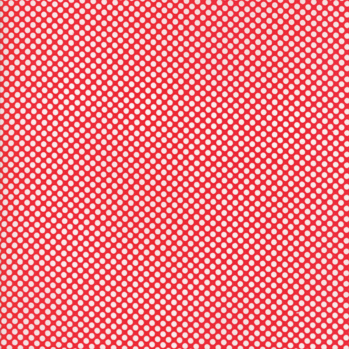 Red Winter Berries Flannel Fabric