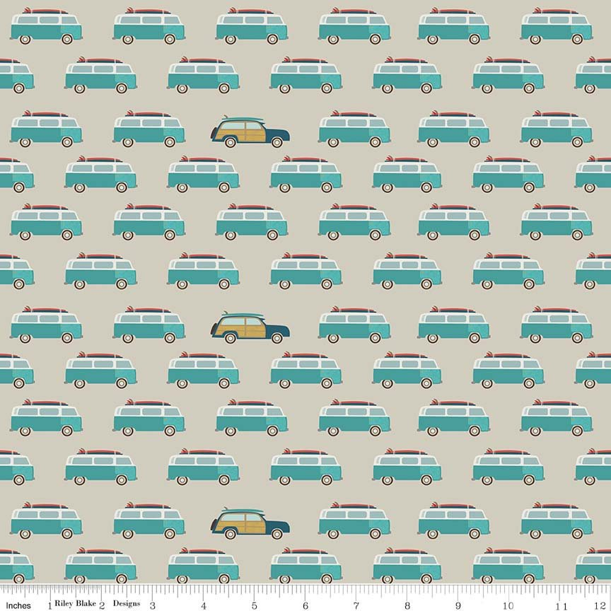 Tan Wagon Fabric from Offshore 2 Collection at Cherry Creek Fabric