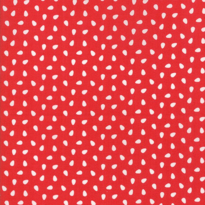 Red Seeds Fabric