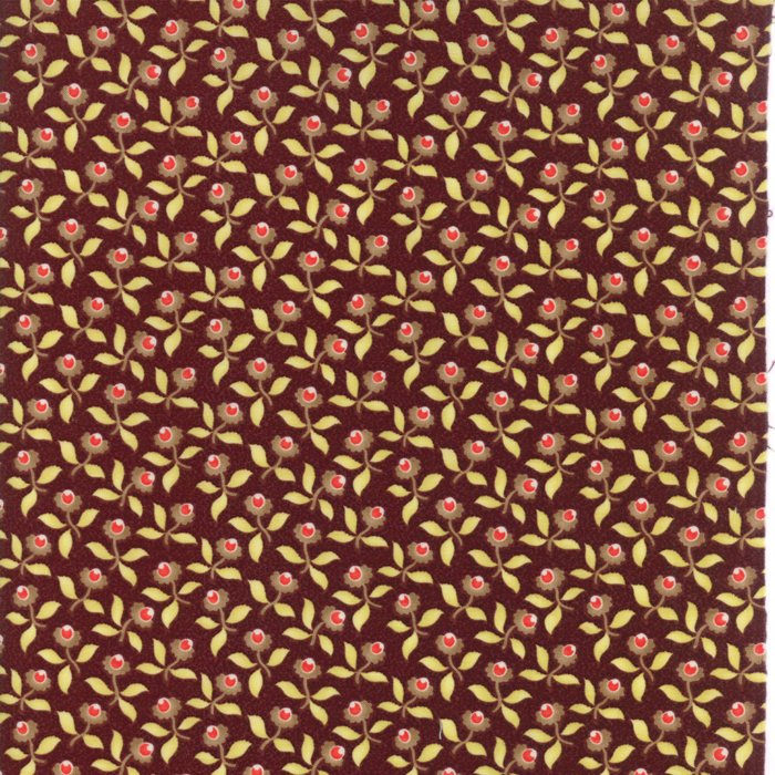 Plum Blossoms Fabric</br>END OF BOLT</br> 1 yds + 6""