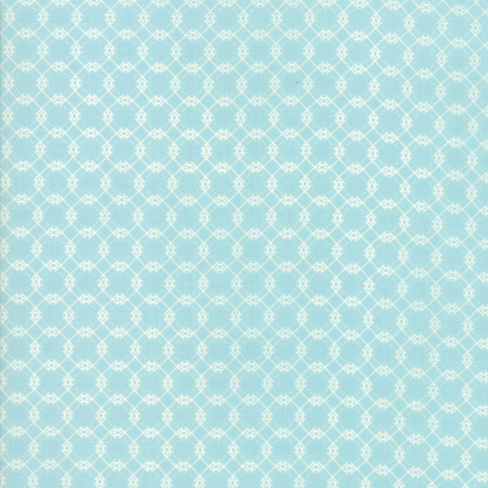 Light Blue Brambles Fabric