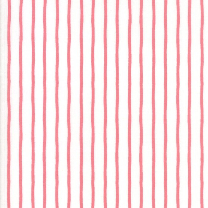 Pink Stripes Fabric