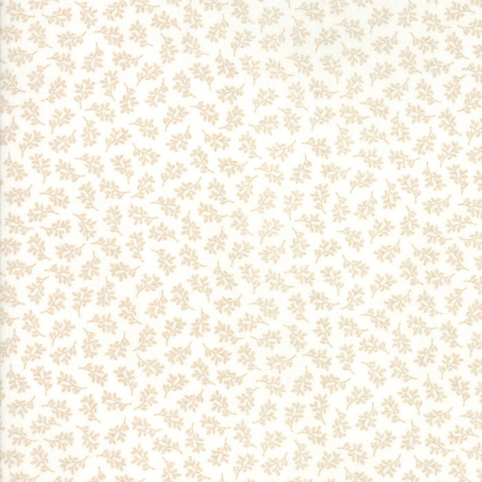 Cream Tiny Vines Fabric from 101 Maple Hill Collection at Cherry Creek Fabric