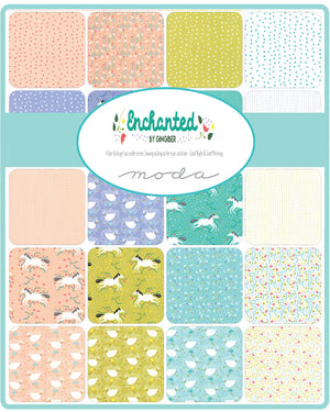 Enchanted Mini Charm Pack from Enchanted Collection at Cherry Creek Fabric