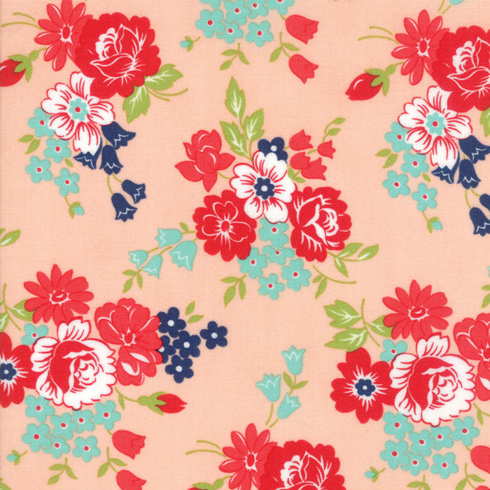 Pink Bouquet Fabric