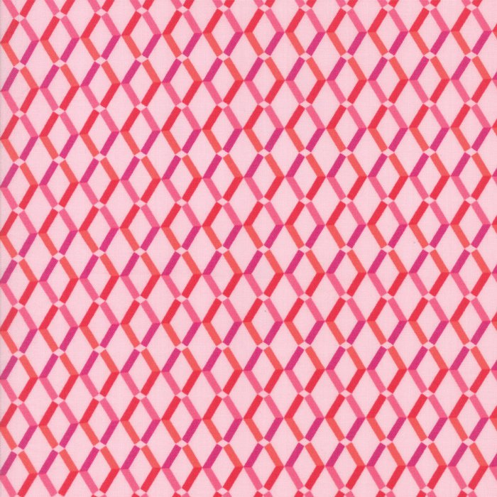 Pink Floral Weave Fabric from Rosa Collection at Cherry Creek Fabric